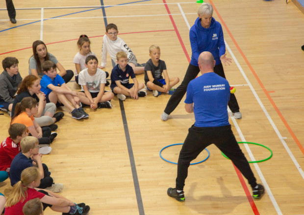 IYSF Supporting Tennis Development in Garioch