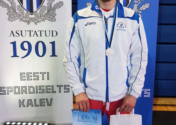 Nicolae Cojocaru, wins Silver medal for GBR Team & Team Scotland at International Wrestling tournament