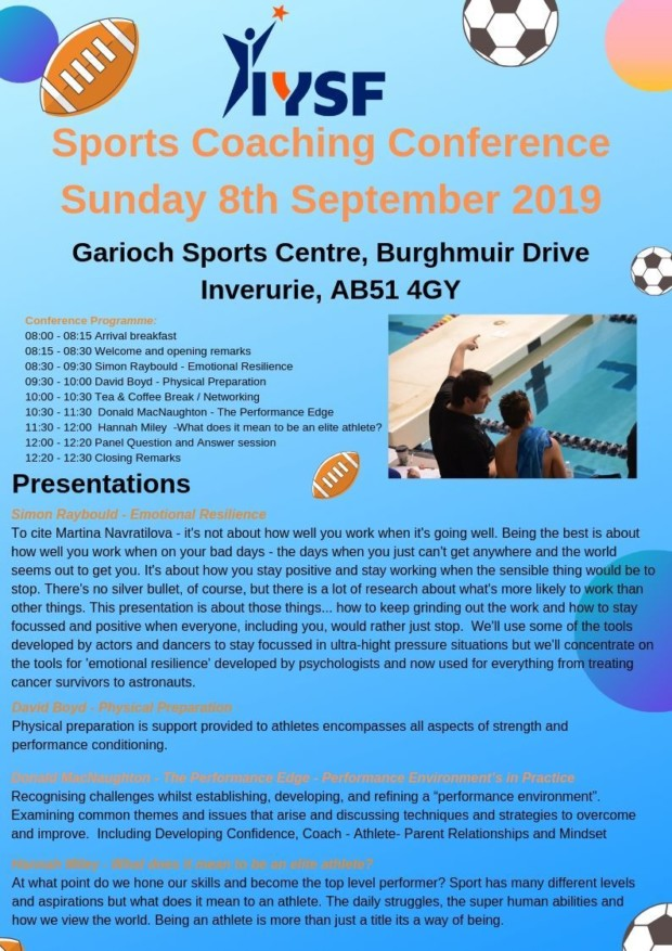 Sports Coaching Conference 2019