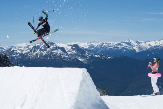 IYSF funds local young freestyle skier, Kirsty Muir as she aims for GB Gold!